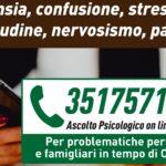 Ascolto psicologico Covid-19